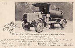 """Michelin - Elle Aussi, On """"la"""" Transporte Sur Pneus Et Non Sur Pleins - Advertising"""