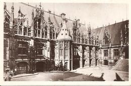 76. CPSM. Seine Maritime. Rouen. Le Palais De Justice - Rouen