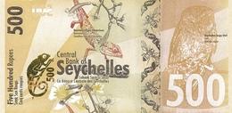 Seychelles P.51  500 Rupees 2016 Unc - Seychellen