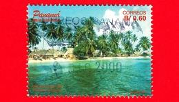 PANAMA - Usato - 1997 - View Of A Beach With Palms - 0.60 - Panama