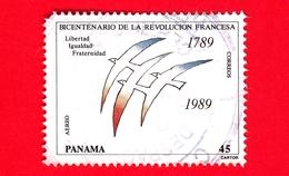 PANAMA - Usato - 1989 - 200 Anni Della Rivoluzione Francese - 45 - Vedi .. - Panama