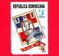REP. DOMENICANA - Usato - 2001 - Giornata Del Francobollo - $ 5. - Repubblica Domenicana