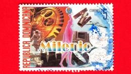 REP. DOMENICANA - Usato - 1999 - Millennio - Milenio - $ 5. - Repubblica Domenicana