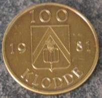 3215 Vz Kloddemarkt Stationswijk Lokeren- Kz 100 Klodde 1981 - Tokens Of Communes