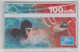 GIBRALTAR 1995 ISLAND GAMES SWIMMING MINT - Gibraltar