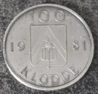 3214 Vz Kloddemarkt Stationswijk Lokeren- Kz 100 Klodde 1981 - Jetons De Communes
