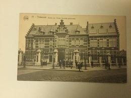 TIENEN 1924  TIRLEMONT   ENTREE DE L' ECOLE NORMALE PROVINCIALE - Tienen