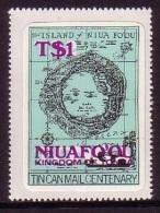 Tonga Niuafo'ou 1983 MNH SG 15a Scarce Ovpt  - Cat $19 - Details In Item Description - Tonga (1970-...)