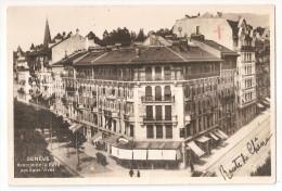 Suisse - Genève 1931 Avenue De La Gare Des Eaux Vives 1931 - GE Genève