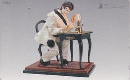 RARE TC Japon / 110-016 - MUSEE DE L'ORGUE - AUTOMATE PIERROT - ORGEL ORGAN Museum Japan PC - 214 - Jeux