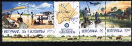 (185) Botswana  2000  Flying Doctors / Mission Strip / Fliegende Ärzte  ** / Mnh  Michel 706-09 - Botswana (1966-...)