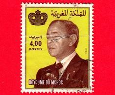 MAROCCO - Usato - 1984 - Re Hassan II  - 4.00 - Vedi ... - Marocco (1956-...)