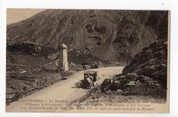 URDOS - 64 - Béarn - Le Somport Sur La Frontière Ou Passait La Voie Romaine D'Oloron à Sarragosse - Autres Communes
