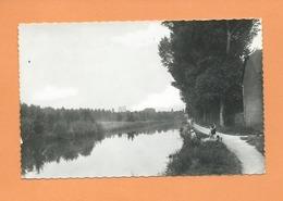 CPSM -   Fouilloy Les Corbie   -  (Somme) - Le Canal - Francia