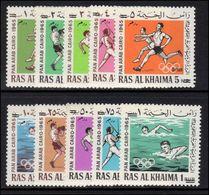 Ras Al Khaima 1966 Olympics Unmounted Mint. - Ras Al-Khaima