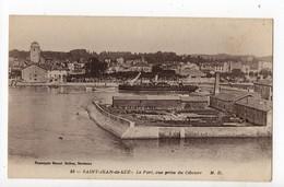 SAINT JEAN DE LUZ - 64 - Pays Basque - Le Port, Vue Prise De CIBOURE - Saint Jean De Luz