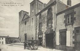 DPT 49 LA ROMAGNE La Place De L'Eglise TBE - France