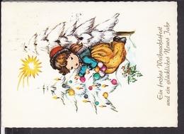 Postkarte Weihnachten , Neujahr  196.. - Noël