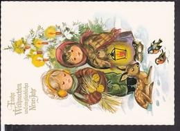 Postkarte Weihnachten , Neujahr - Weihnachten