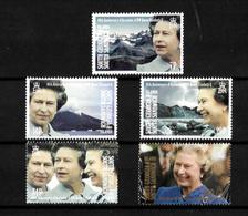 South Georgia 1992 QEII 40th Anniversary Of Accession, Complete Set MNH (7167) - Falkland Islands