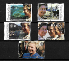 Seychelles 1992 QEII 40th Anniversary Of Accession, Complete Set MNH (7169) - Seychelles (1976-...)