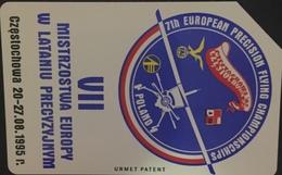 Paco \ POLONIA \ 57a \ VI European Championship In Precision Gliding \ Usata - Poland