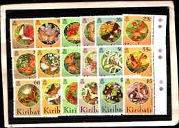 73343) KIRIBATI-LOTTO FRANCOBOLLI -MNH**-FARFALLE - St.Vincent E Grenadine
