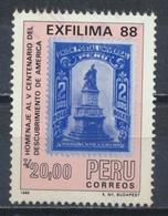 °°° PERU - Y&T N°884 - 1988 °°° - Peru