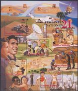 UNO Wien 2000 MiNr.Block 13 Nr.311 - 316 ** Postfrisch Die UNO Im 21. Jahrhundert ( Dg 173 ) Günstige Versandkosten - Wien - Internationales Zentrum
