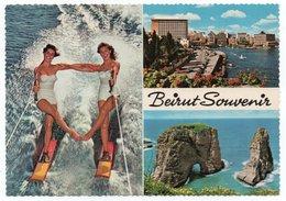LIBAN/LEBANON - BEYROUTH/BEIRUT SOUVENIR / CENTRE INTERNATIONAL DE SKI NAUTIQUE / PIN-UP - Libano