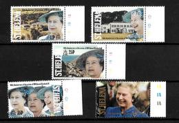 St Helena 1992 QEII 40th Anniversary Of Accession, Complete Set MNH Marginals (7176) - Saint Helena Island