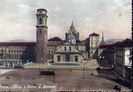 Torino - Chiesa E Piazza S.giovanni - Formato Grande Viaggiata – E 8 - Églises