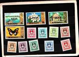 73345) KIRIBATI-LOTTO FRANCOBOLLI -MNH**- - St.Vincent E Grenadine