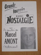PHOTO DEDICACEE MARCEL AMONT - Dédicacées