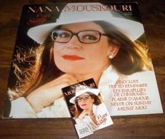 Finland 1986 LP + MC K7 Cassette Musikkassette Nana Mouskouri - Collectors