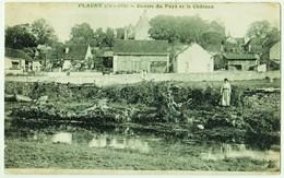 FLACEY (Côte-d'Or) - Centre Du Pays Et Le Château - France