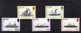 JERSEY 1978 Mail Packets Set MNH - Jersey