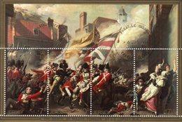 JERSEY 1981 Battle Of Jersey Mini Sheet Used CTO - Jersey