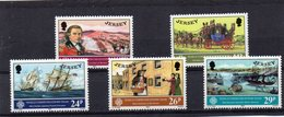 JERSEY 1983 World Communications Set MNH - Jersey