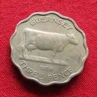Guernsey 3 Pence 1959 KM# 18 Guernesey - Guernsey