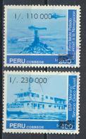 °°° PERU - Y&T N°936/37 - 1990 °°° - Perù