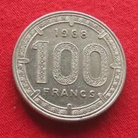 Equatorial African States 100 Francs 1968 Africa Afrika Afrique Equatoriale - Monnaies