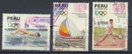 °°° PERU - Y&T N°945/47/48 - 1991 °°° - Perù