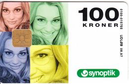 DENMARK - Synoptic, Danmont Telecard 100 Kr., Tirage 5000, Exp.date 08/97, Used - Denmark