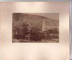 Photo Albuminée Sur Carton  Corancy (58)  Moulin Au Bord De L'Yonne - Luoghi