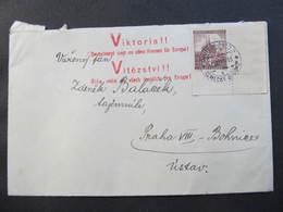 BRIEF Propagande Vikoria Deutschland Siegt An Allen Fronten 1941 ///  D*34982 - Böhmen Und Mähren