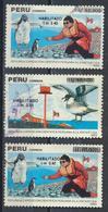 °°° PERU - Y&T N°950/51 - 1991 °°° - Perù