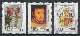 °°° PERU - Y&T N°953/55 - 1991 °°° - Perù