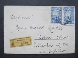 BRIEF Laibach - Kolin Ca.1919 ///  D*34989 - 1919-1929 Königreich Der Serben, Kroaten & Slowenen