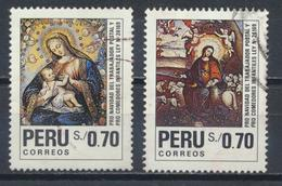°°° PERU - Y&T N°956/57 - 1991 °°° - Perù
